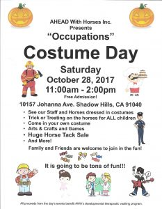 Costume Day 2017 Flyer