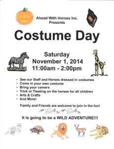 Costume Day 2014 Flyer