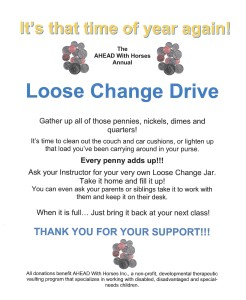 Loose change Drive Flyer as pic