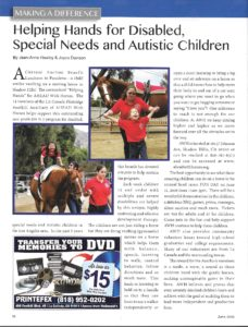 AWH Article in LA Canada 2016