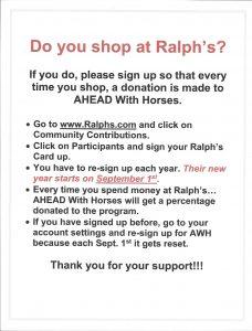 Ralphs flyer 2017